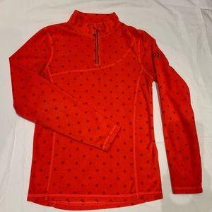 Foxy 3/4 zip fleece top